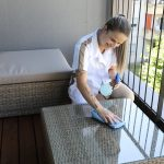 Crown Facility GmbH - Cleaning Balcony